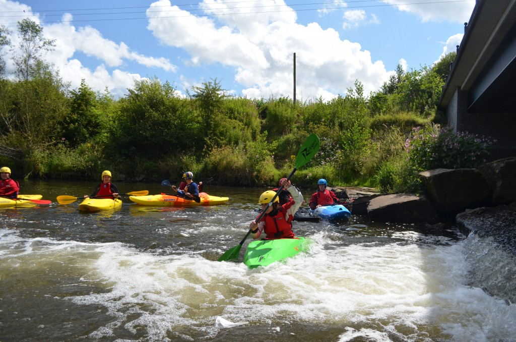 Introduction to White Water Kayaking course with Wilderness Development
