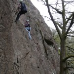 Rock climbing and abseiling course