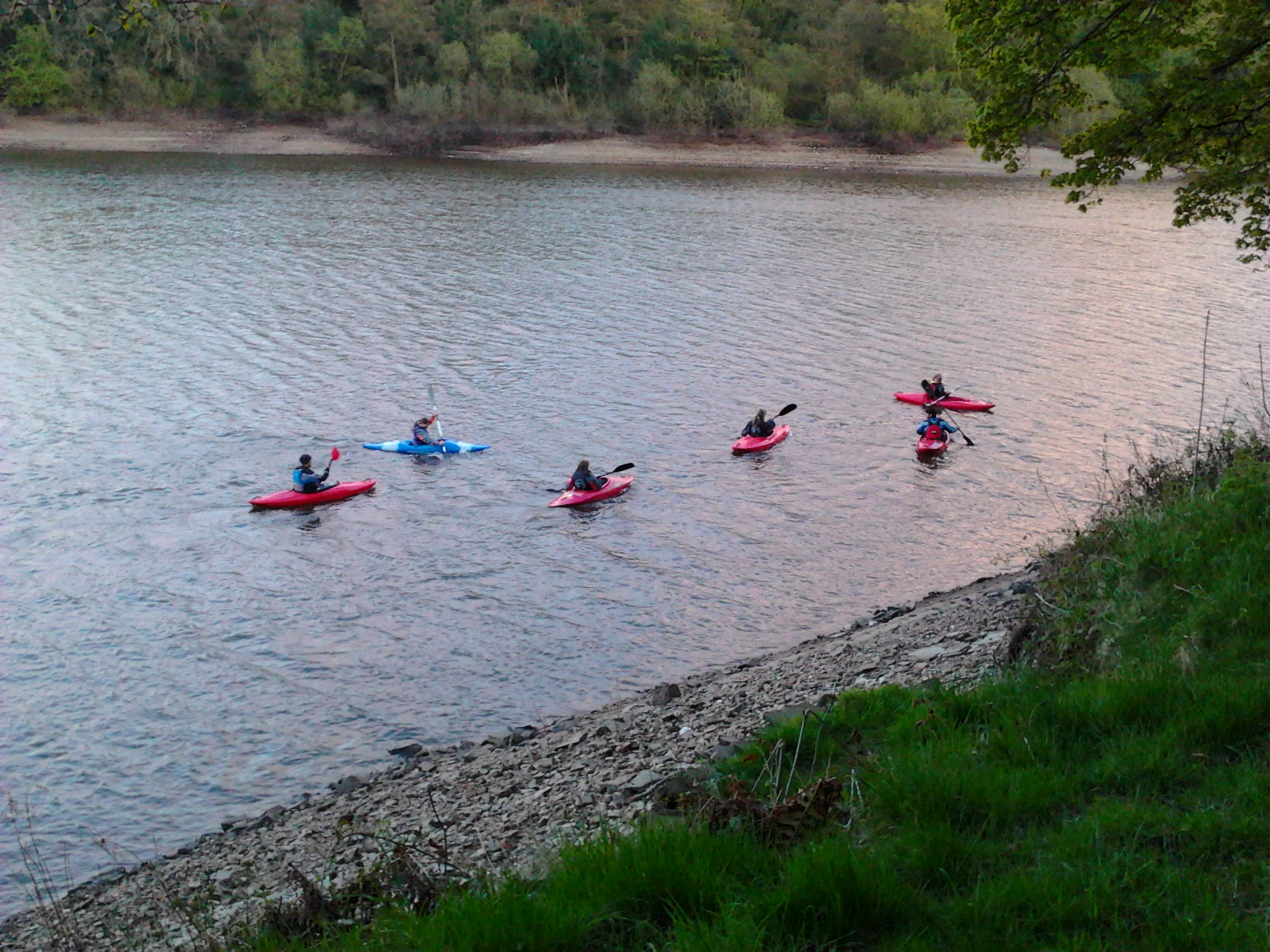 Kayaking in the Peak District