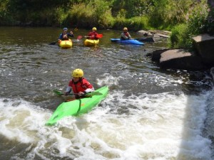 British Canoeing Explore Award Course