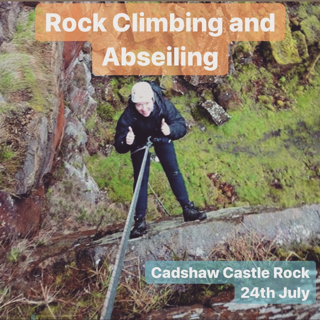 Spaces rock climbing and abseiling in North Manchester on 24th July! More info and booking at www…