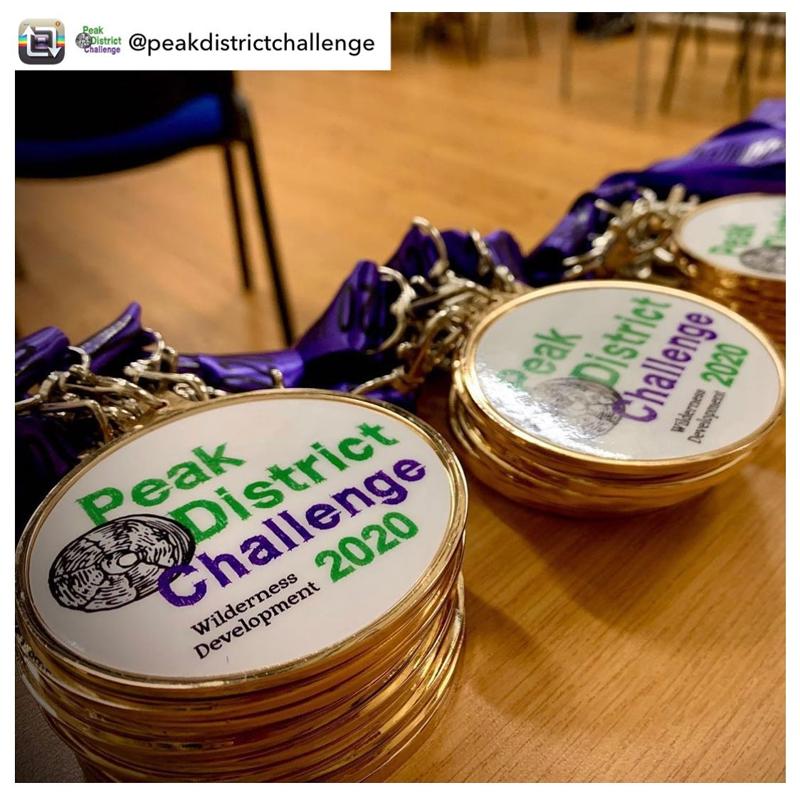 Repost from @peakdistrictchallenge - Our first wave of challengers have left and we're getting everyone's medals ready for tomorrow 🏅⛰🏅  . . . #wildernessdevelopment #peakdistrictchallenge #medals #ukhikes #hikebritain #peakdistrictchallenge2020 #originalpeakdistrictchallenge #since2013 #ultrarunning #ultratrailrunning #trailrunning #ultrarunners #challengeevent #challengeyourself #challengetrek #charityevent #peakdistrict #peakdistrictnationalpark #yourhikes #roamtheuk #hikingadventures #ukhikingofficial #hikinguk #mountainsfellsandhikes #mapmyhike #igersderbyshire #outdoorhikingculture #nationalparksuk