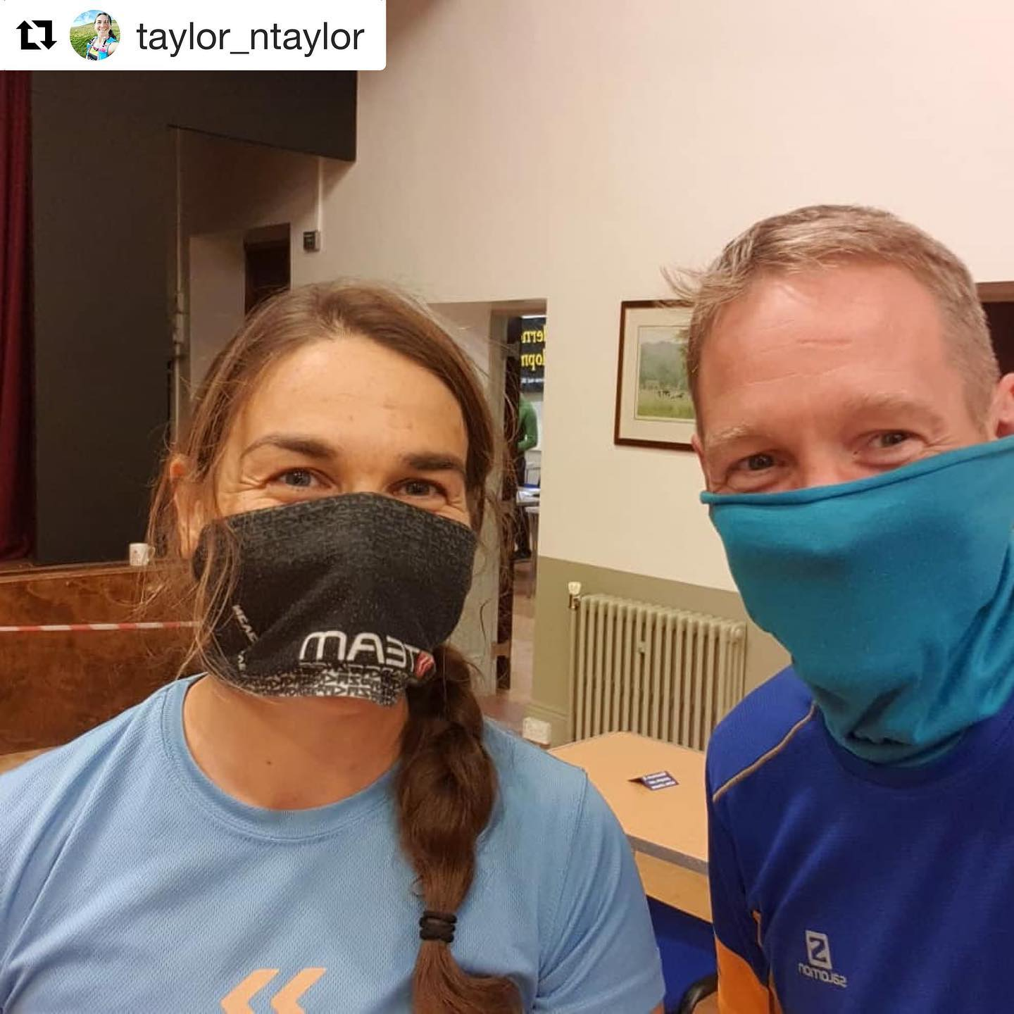 Lovely to see these photos from @taylor_ntaylor - great to have you along! @peakdistrictchallenge ⛰  What a weekend. Thanks to Wilderness Development for a well run, social distance compliant 100km Peak Challenge. Started at 9pm friday finished lunchtime Sat. Good navigation practice for #YallaGo_2020