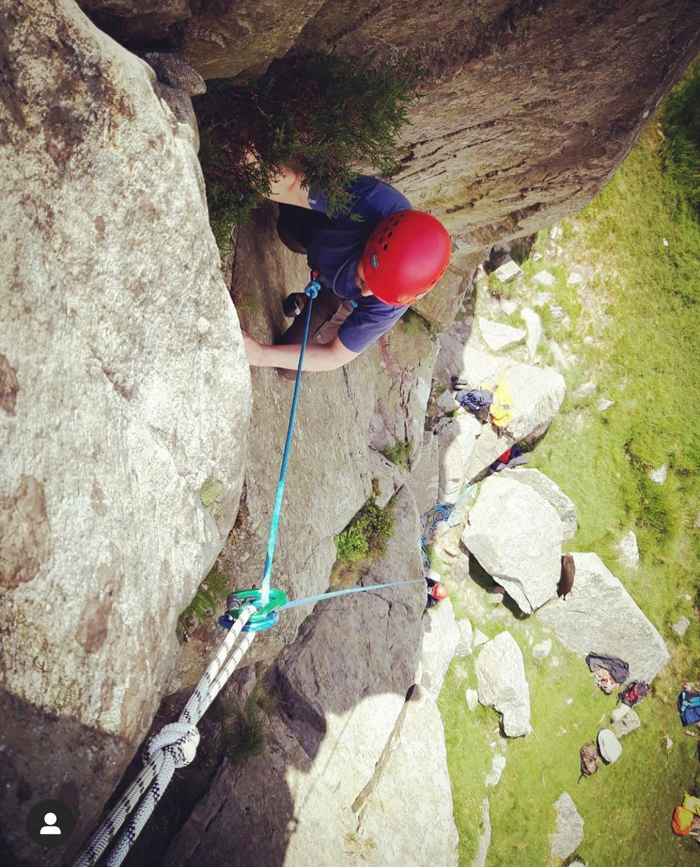 Our Autumn Rock climbing sessions are going ahead on 17 and 19 October at Windgather Rocks near W…