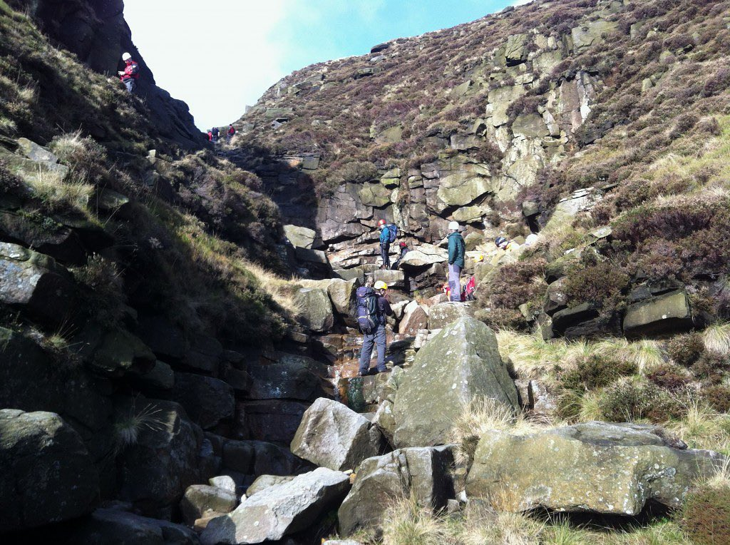 Join us tomorrow (20th May) for a Mountain Adventure Scramble! Our mountain adventure scrambles are ideal for those who like finding the most adventurous route to the top of a mountain, via streams, caves, tunnels or waterfalls. Accompanied by an instructor, we'll avoid paths in our ascent of Kinder Scout, and aim to explore as much of the exciting and unusual formations we can find! Suitable for adults and adventurous teenagers 14+ ⛰🧗♂️⛰  https://www.wilderness-development.com/walks-and-scrambles/mountain-adventure-scramble . . . #wildernessdevelopment #smallbusiness #scrambling #adventures #trysomethingnew #peakdistrict #kinderscout #peakdistrictnationalpark #peakdistrictclimbing #mountainsfellsandhikes #roamtheuk #outdoorpursuits #outdooradventures #outdooractivities #nationalparksuk #booknow