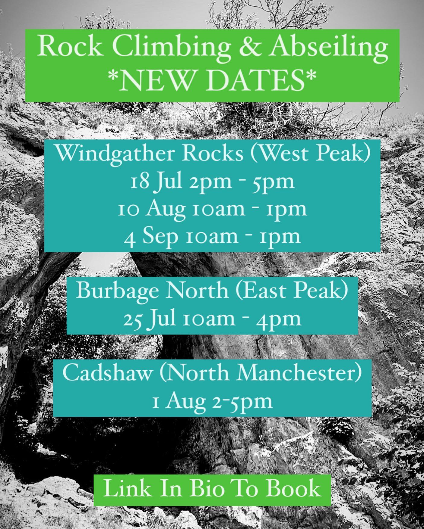 Join our friendly, qualified instructors for these sessions where you'll learn the basics of ropework, before climbing under their supervision. Then you'll need to be brave and challenge yourself to abseil back down (or walk down the path instead if you prefer!). Suitable for all from 10+, we hope to see you here!  More info and booking at www.wilderness-development.com, link in our bio 🧗♀️⛰🧗♀️ . . . #wildernessdevelopment #smallbusiness #rockclimbing #climbing #scrambling #abseiling #trysomethingnew #peakdistrict #peakdistrictnationalpark #peakdistrictclimbing #mountainsfellsandhikes #roamtheuk #outdoorpursuits #outdooradventures #outdooractivities #nationalparksuk #booknow