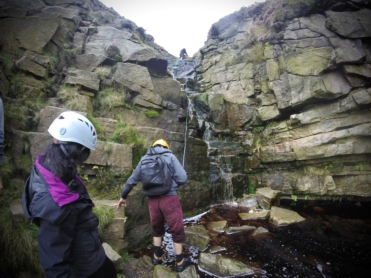 On our Mountain Adventure Scrambles we'll stay off the beaten track, making sure to find the most exciting way up the hill we can find, be that following streams or climbing rocky outcrops, and stopping to explore all the caves, tunnels and interesting things we can find.   For booking and more information - https://www.wilderness-development.com/walks-and-scrambles/mountain-adventure-scramble ⛰🥾⛰  . . . #wildernessdevelopment #smallbusiness #scrambling #adventures #trysomethingnew #peakdistrict #kinderscout #peakdistrictnationalpark #peakdistrictclimbing #mountainsfellsandhikes #roamtheuk #outdoorpursuits #outdooradventures #outdooractivities #nationalparksuk #booknow