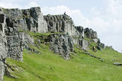 Rock climbing in the Peak District with Wilderness Development