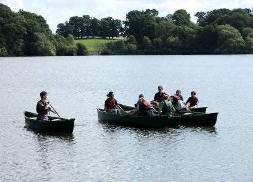 Open Canoeing in the Peak District